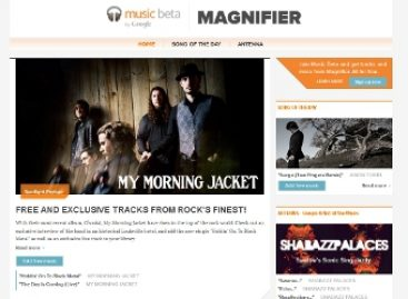 Google открыл музыкальный блог