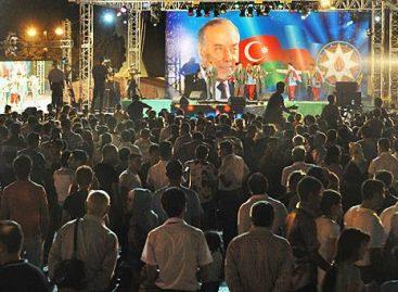 Грандиозный концерт в Баку