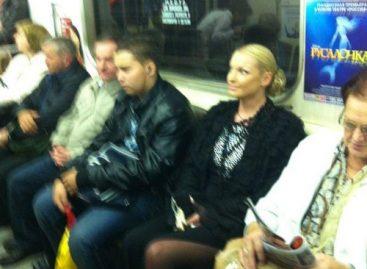 Анастасия Волочкова проехалась в метро ради пиара