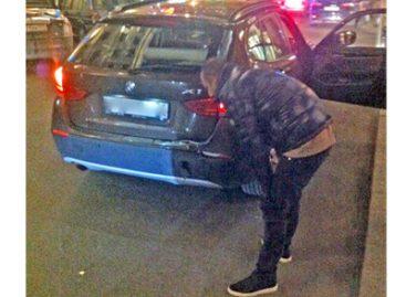 Arash попал в ДТП в центре столицы