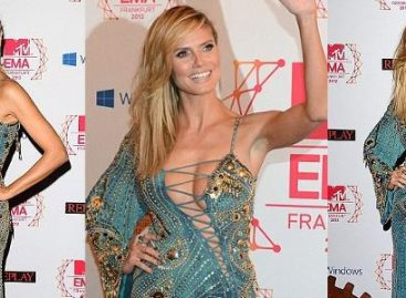Хайди Клум поразила всех присутствующих на MTV EMA 2012