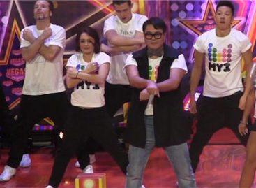 Глава МузТВ станцевал в стиле Gangnam Style
