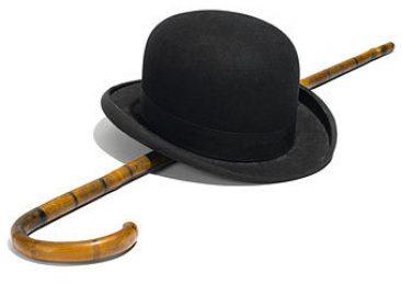 На аукционе был продан котелок и трость Чарли Чаплина