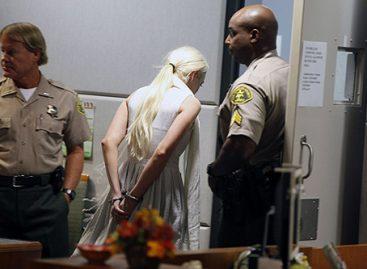 Линдси Лохан снова была арестована