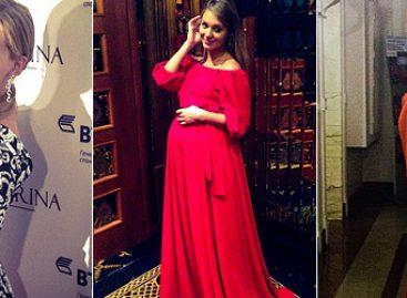 Кристина Асмус приняла участие в показе мод
