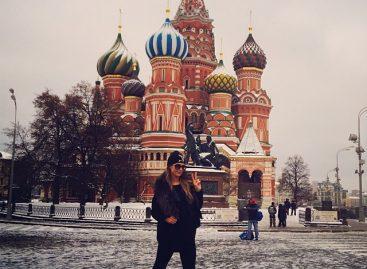 Пэрис Хилтон вернулась в Москву
