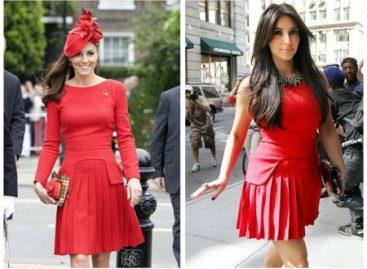 Ким Кардашян во многом подражает герцогине Кэтрин