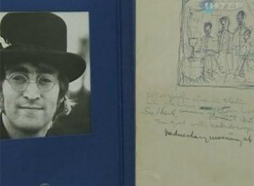 На аукционе продадут рукописи Джона Леннона