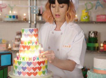 "Кэти Перри представила клип ""Birthday"""