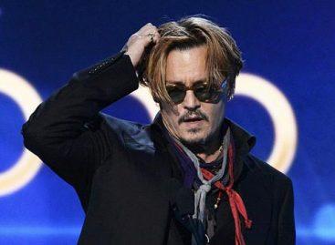 Джонни Депп шокировал публику на Hollywood Film Awards