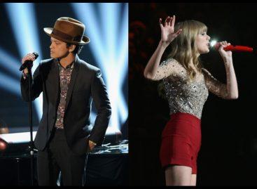 """Бруно Марс опередил Тейлор Свифт в чарте """"Billboard Hot 100"""""""