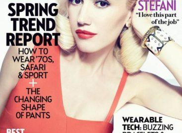 Гвен Стефани стал героиней мартовского Fashion Magazine