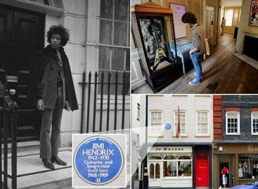 Квартира Джими Хендрикса в Лондоне станет музеем