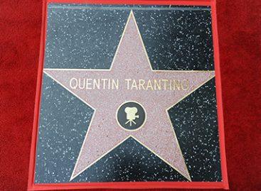 Квентин Тарантино обрел именную звезду на голливудской «Аллее славы»