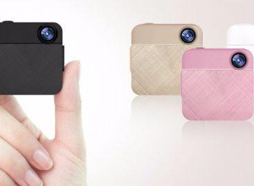 Китайская компания презентовала мини-камеру, которая крепится на одежде