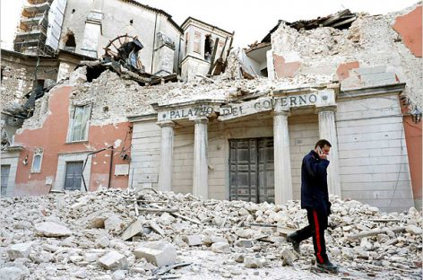 Землетрясение в Италии: более 250 человек погибло