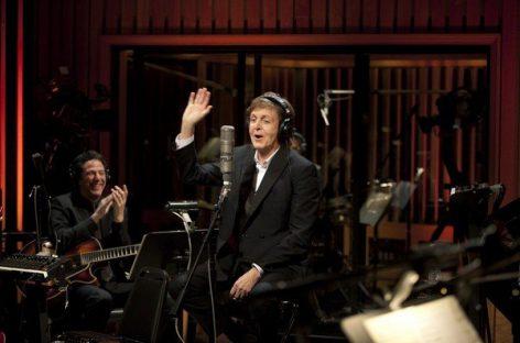 Пол Маккартни снова работает с Capitol Records