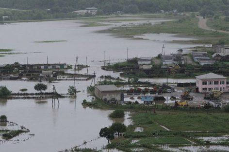 Паводок в Приморье: затоплено несколько сел