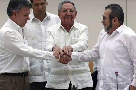 Повстанцы и власти Колумбии подписали мирное соглашение