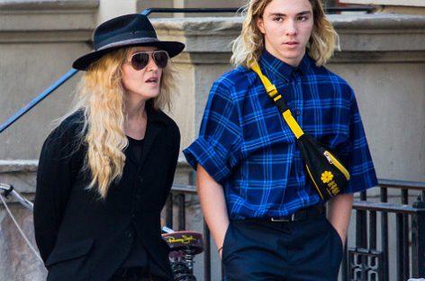 Мадонна прокомментировала арест сына