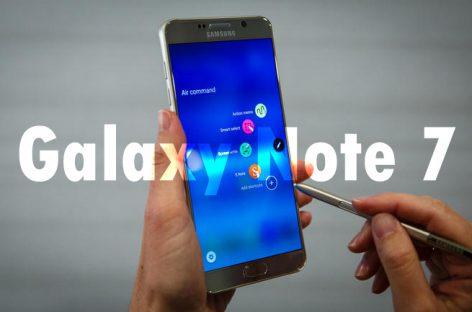 В Samsung рассказали о самовозгорании Galaxy Note 7