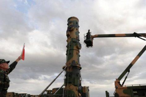 Китай разместил межконтинентальные баллистические ракеты в провинции Хэйлунцзян