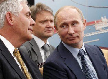 Стали известны подробности встречи Путина и Тиллерсона