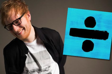 Эд Ширан снова на вершине обоих музыкальных чартов Британии