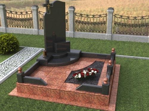 Когда устанавливать памятник на могилу Лампадка из габбро-диабаза резная Кропоткин