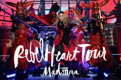 Мадонна представила концертник, записанный в ходе «Rebel Heart Tour»