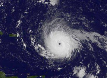 CNN запустил трансляцию урагана «Ирма»