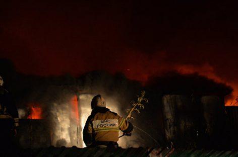 Пожар в Ростове-на-Дону: последние данные