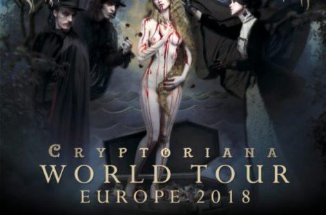 Cradle Of Filth анонсировали гастроли «Cryptoriana World Tour»
