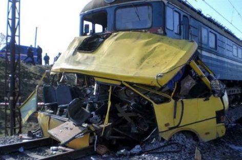 Столкновение автобуса и поезда во Владимирской области