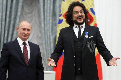Киркоров о вступлении в движение «Putin Team»