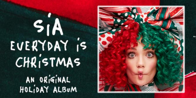 Sia обнародовала клип на новейшую рождественскую песню
