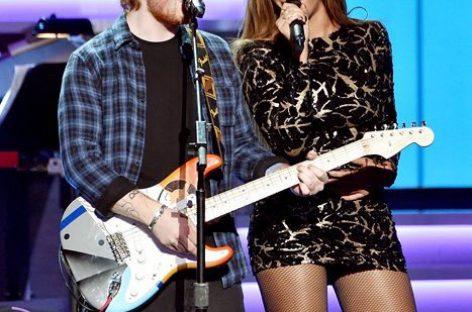 Эд Ширан, Бейонсе и их «Perfect Duet»  – самый успешный сингл мирового чарта