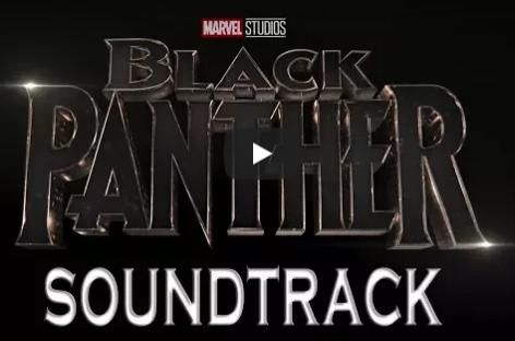Доступен саундтрек к «Черной Пантере»