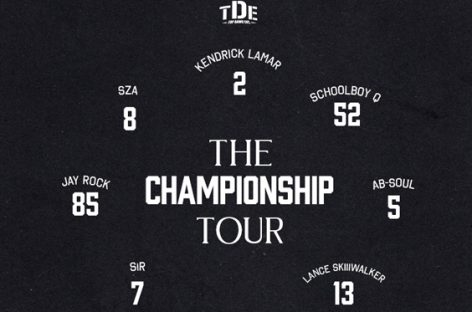 The Championship Tour Кендрика Ламара