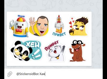 Превращай слова в стикеры со Stickeroid: скоро и в Instagram!