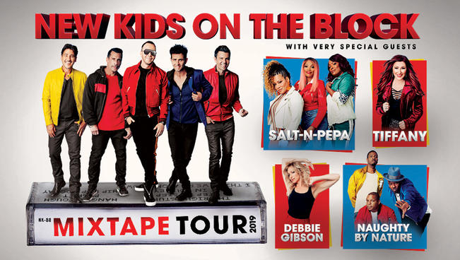 New Kids on the Block отправится в большой концертный тур в 2019-м
