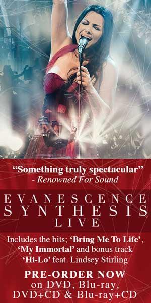 Evanescence выпускают новый DVD