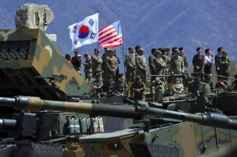 В марте стартуют совместные военные учения США и Республики Корея