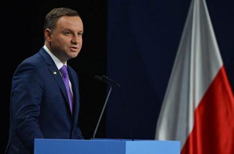 Дуда выявил интерес к белорусскому суверенитету