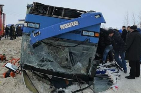 Последние данные по ДТП автобуса с детьми под Калугой