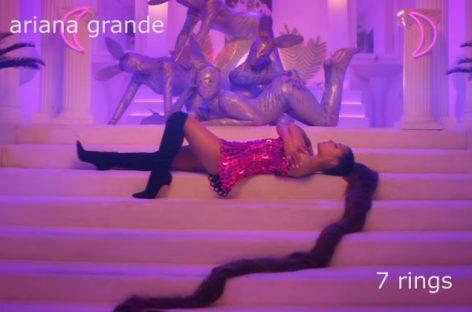 Ариана Грандэ возглавила хит-парад Великобритании