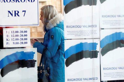 Выборы в Эстонии: последние сводки
