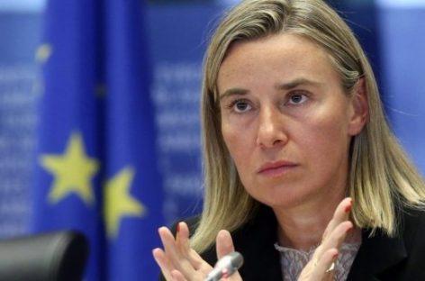 Федерика Могерини подчеркнула необходимость приоритета конфликта в Сирии