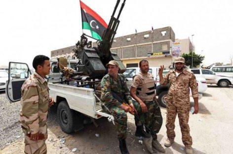 Ливийская национальная армия начала наступление на Триполи