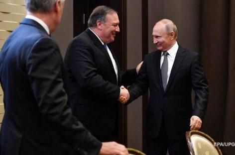 Помпео выразил надежду на восстановление российско-американских отношений